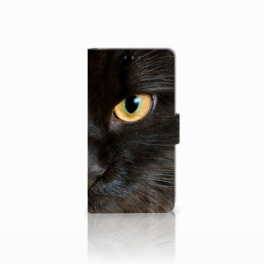 LG G4 Uniek Boekhoesje Zwarte Kat