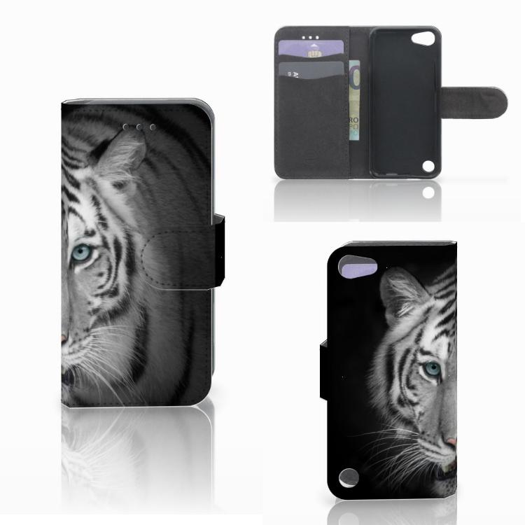 Apple iPod Touch 5 | 6 | iPod (2019) Telefoonhoesje met Pasjes Tijger