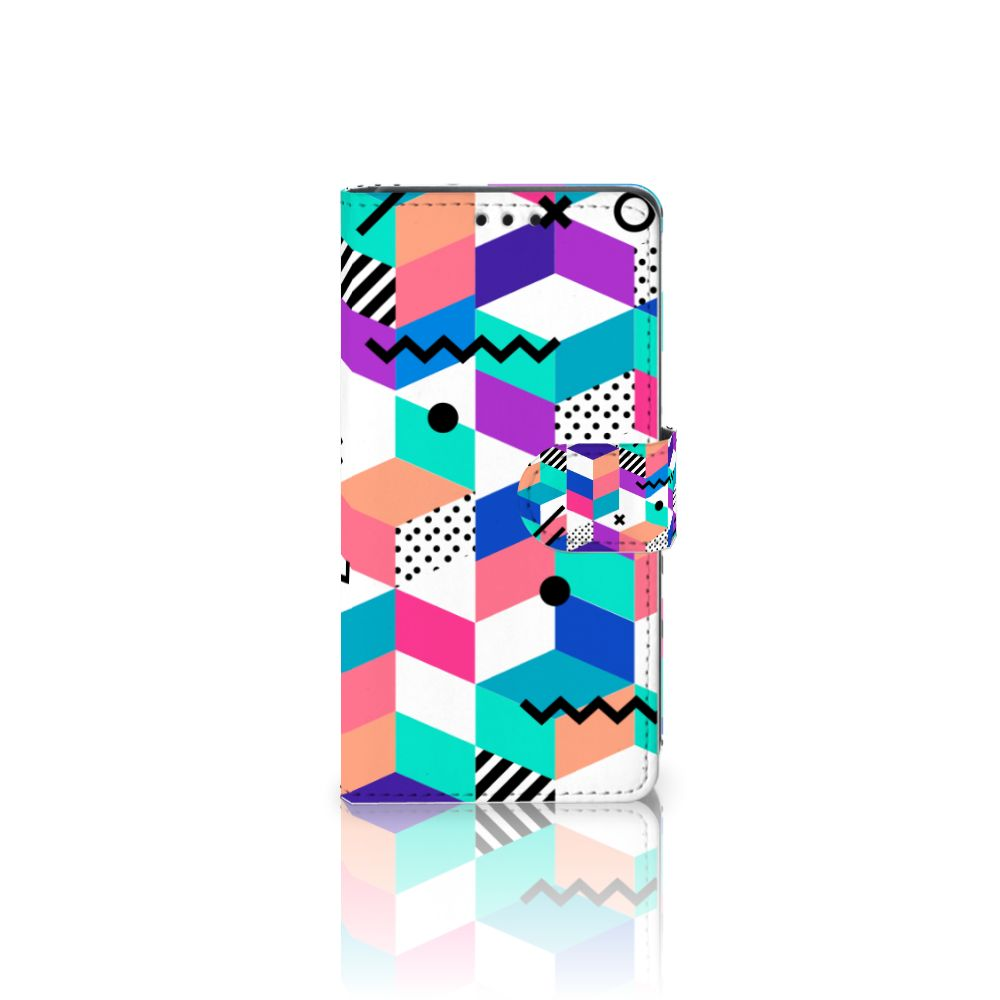 Sony Xperia Z5 | Z5 Dual Boekhoesje Design Blocks Colorful