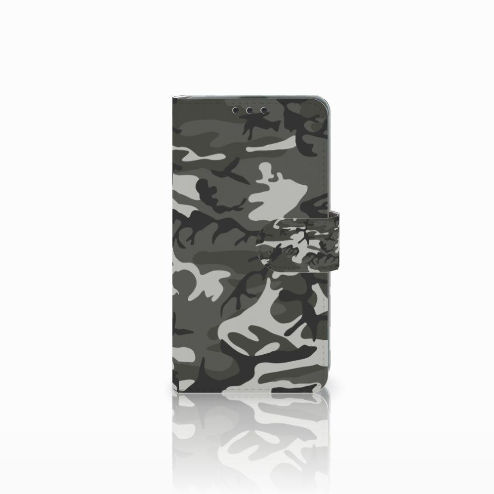 Microsoft Lumia 535 Uniek Boekhoesje Army Light