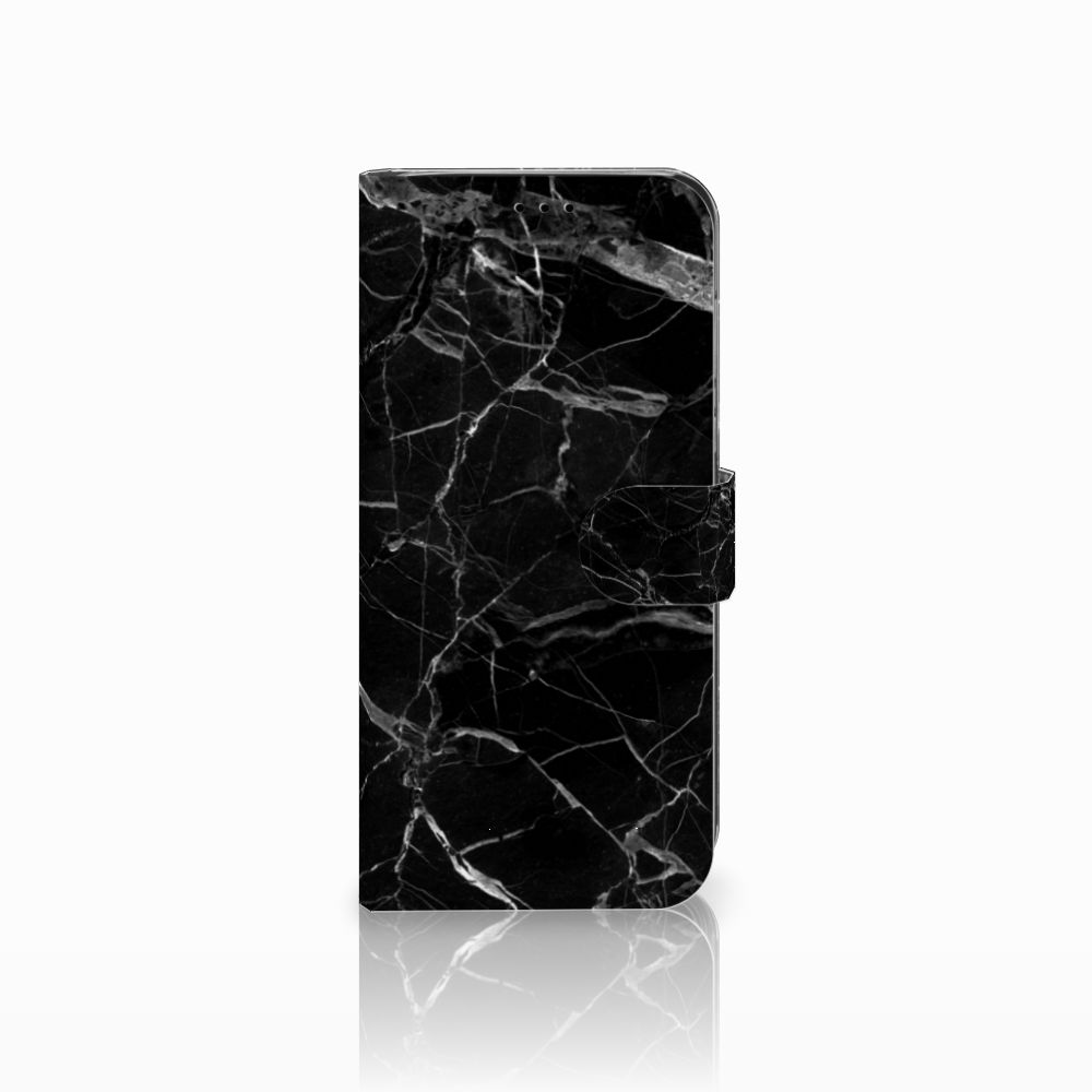 Huawei Mate 20 Lite Uniek Boekhoesje Marmer Zwart