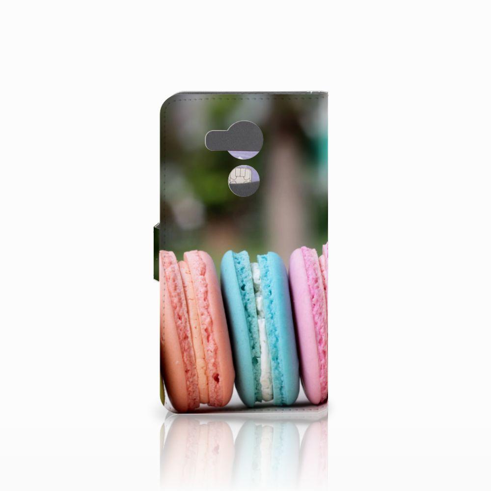 Huawei Mate 8 Book Cover Macarons