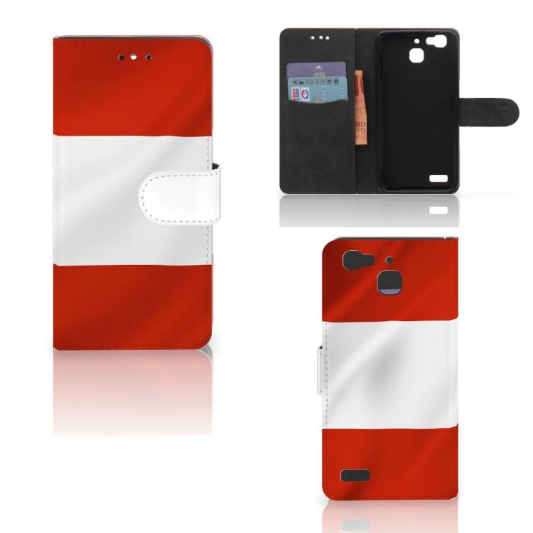 Huawei P8 Lite Smart (GR3) Bookstyle Case Oostenrijk