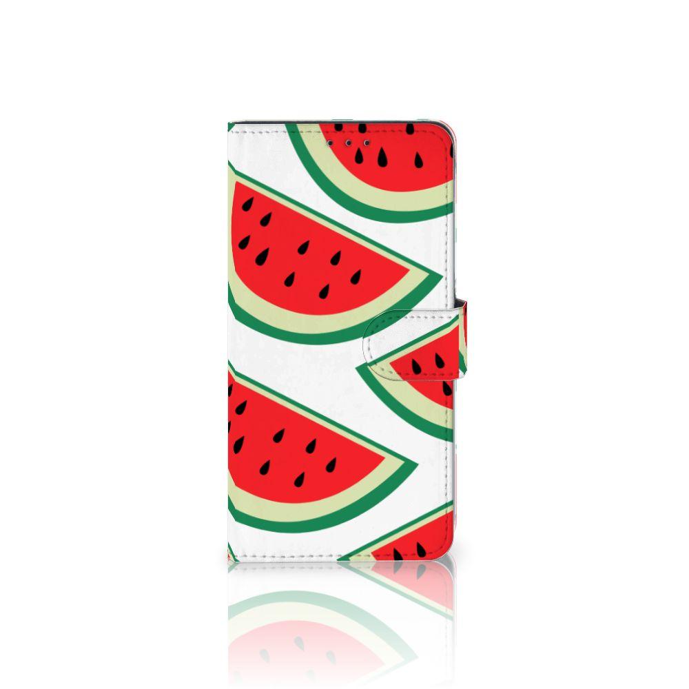 Samsung Galaxy A8 Plus (2018) Uniek Boekhoesje Watermelons