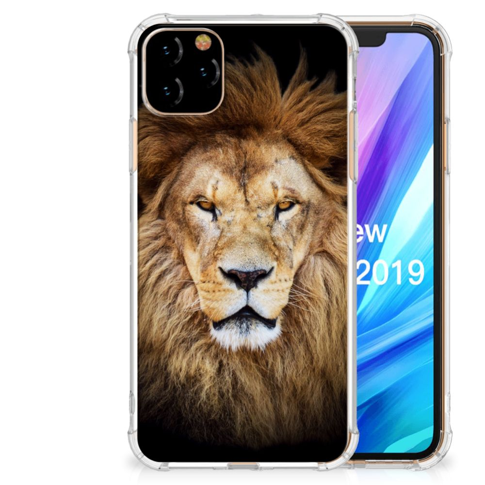 Apple iPhone 11 Pro Max Case Anti-shock Leeuw