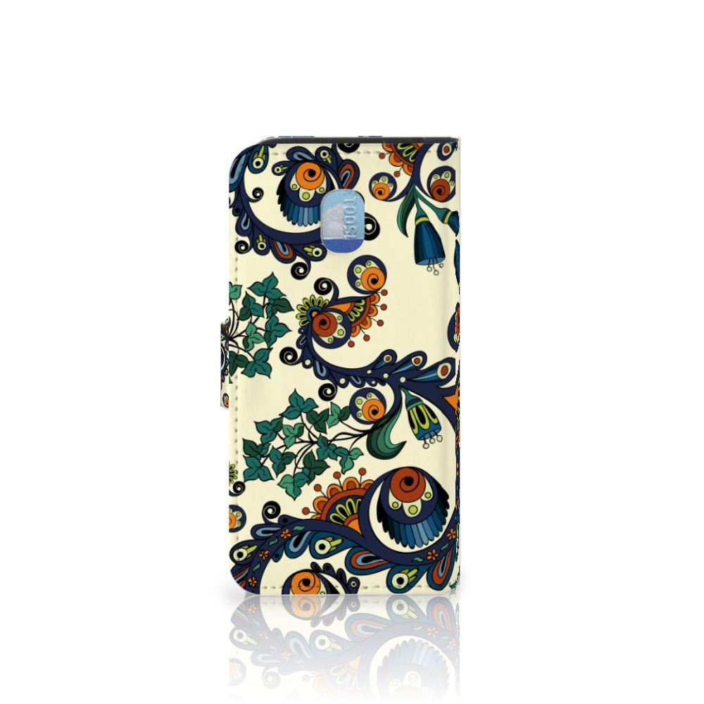 Wallet Case Samsung Galaxy J3 (2018) Barok Flower