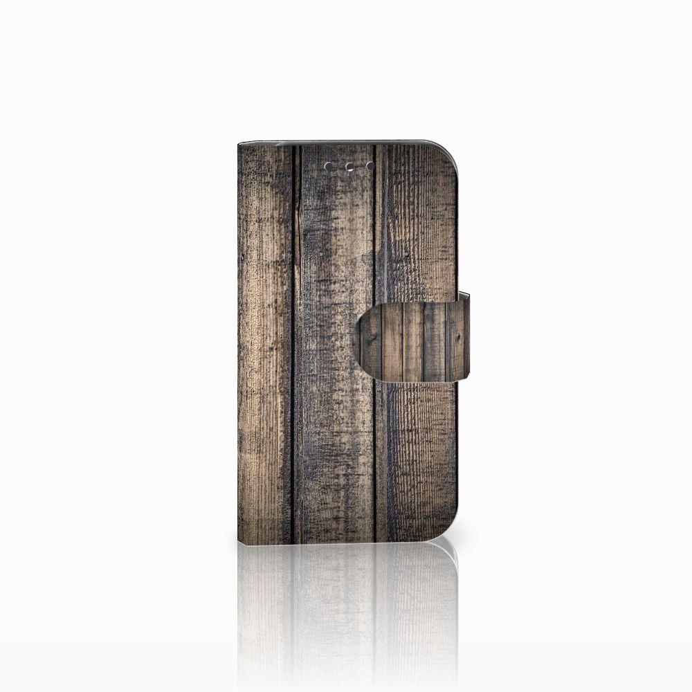 Lenovo B Boekhoesje Design Steigerhout