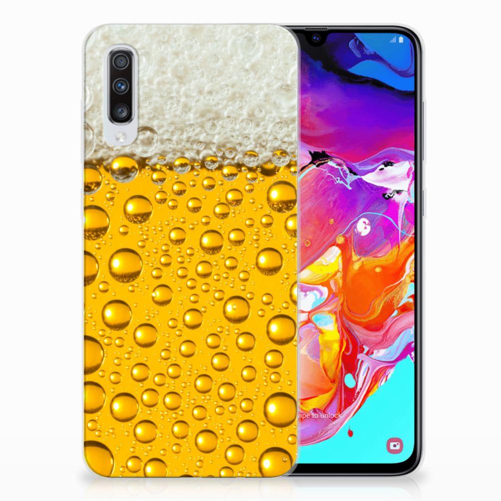 Samsung Galaxy A70 Siliconen Case Bier