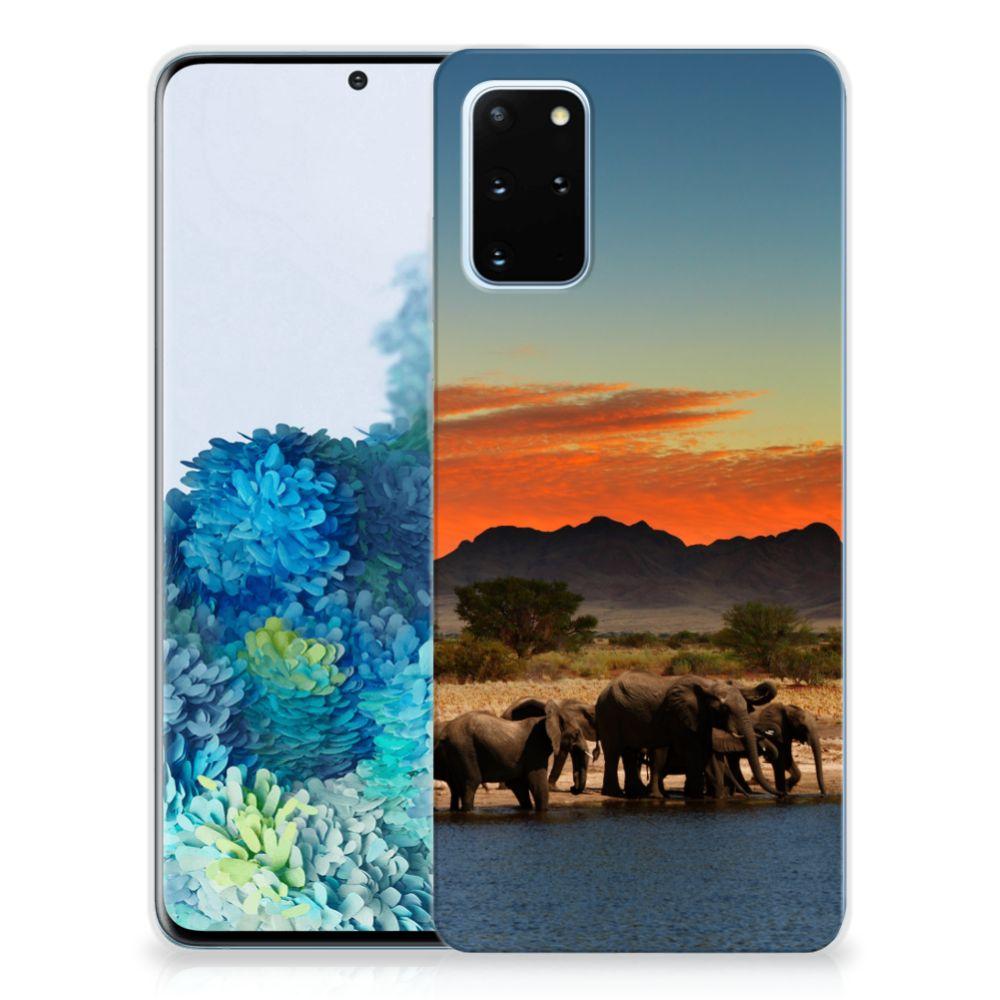 Samsung Galaxy S20 Plus TPU Hoesje Olifanten
