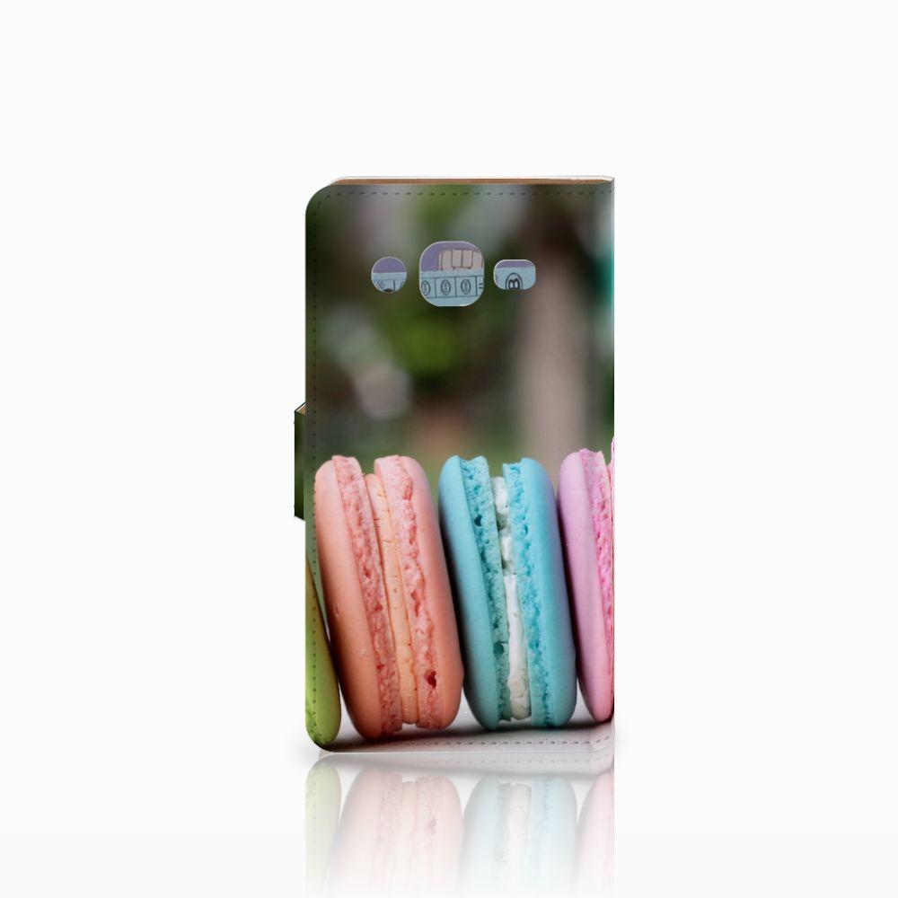 Samsung Galaxy J2 (2015) Book Cover Macarons