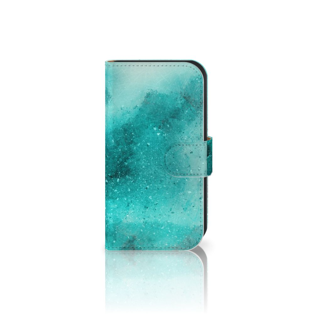 Hoesje Samsung Galaxy Ace 4 4G (G357-FZ) Painting Blue