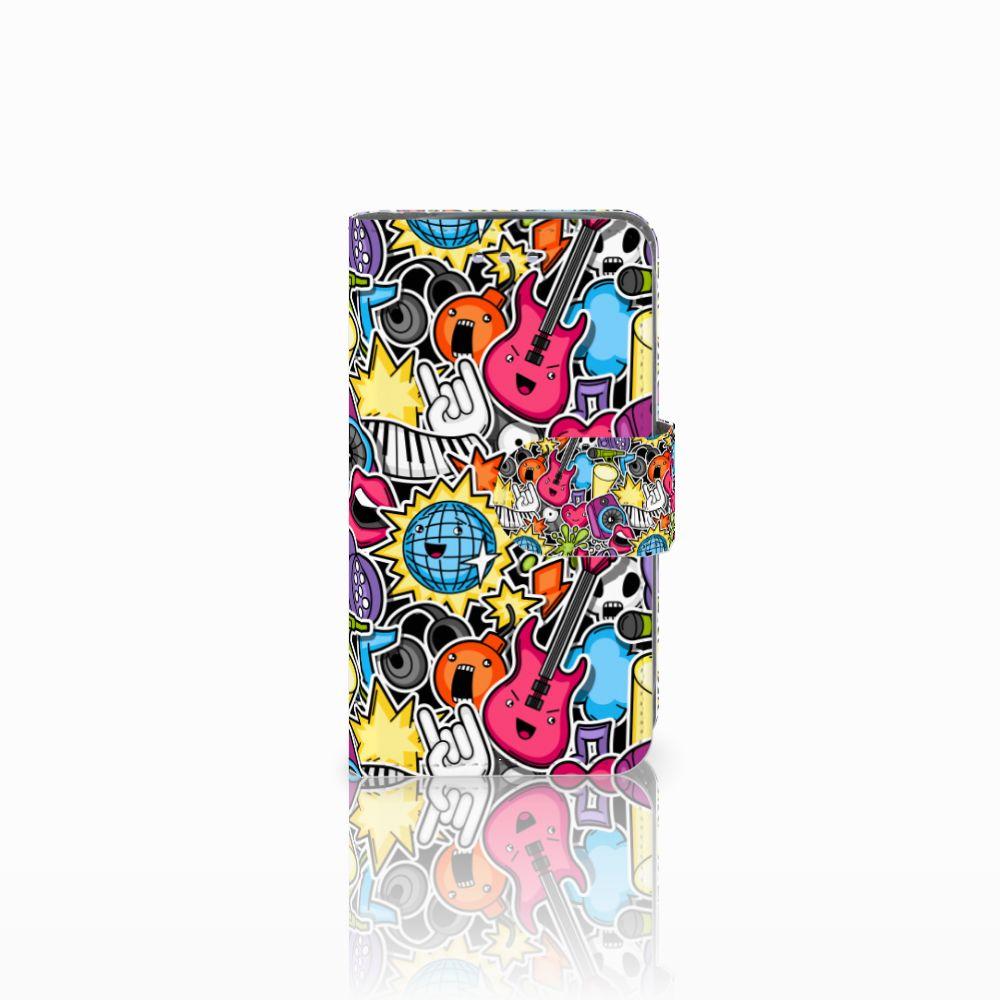 Samsung Galaxy S3 Mini Uniek Boekhoesje Punk Rock