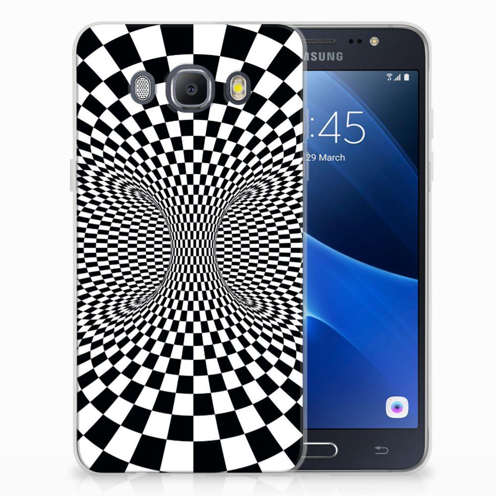 Samsung Galaxy J5 2016 TPU Hoesje Illusie