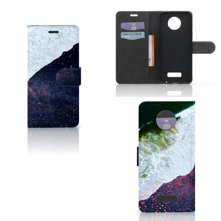 Motorola Moto Z Bookcase Sea in Space
