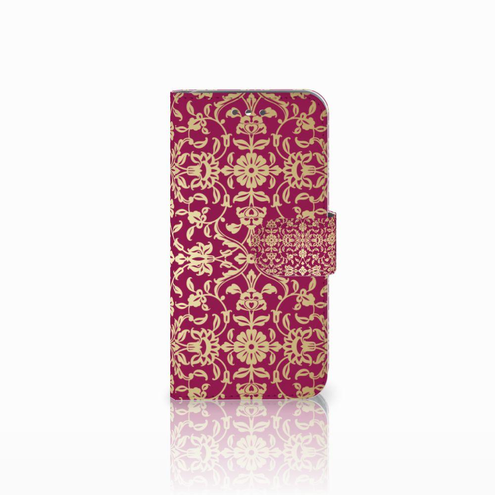 Wiko Wim Lite Boekhoesje Design Barok Pink