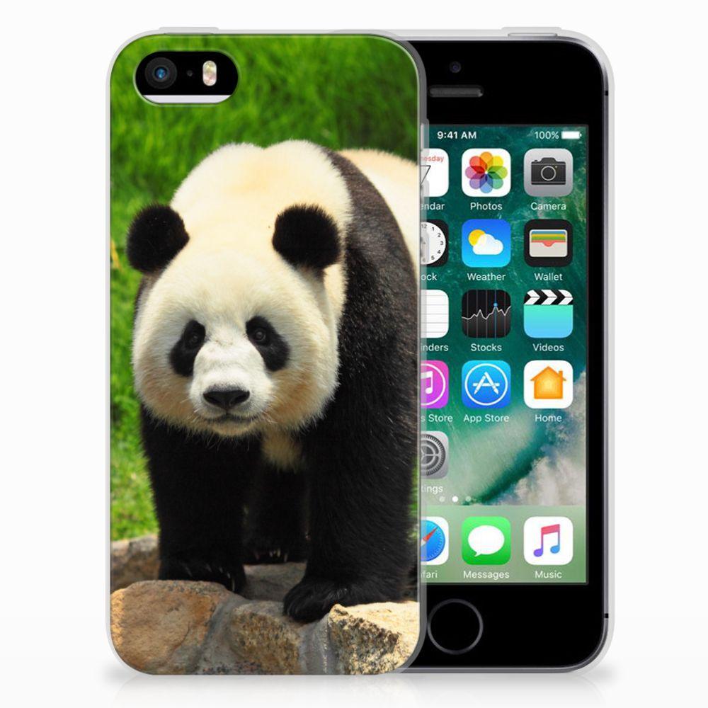 Apple iPhone SE | 5S TPU Hoesje Panda