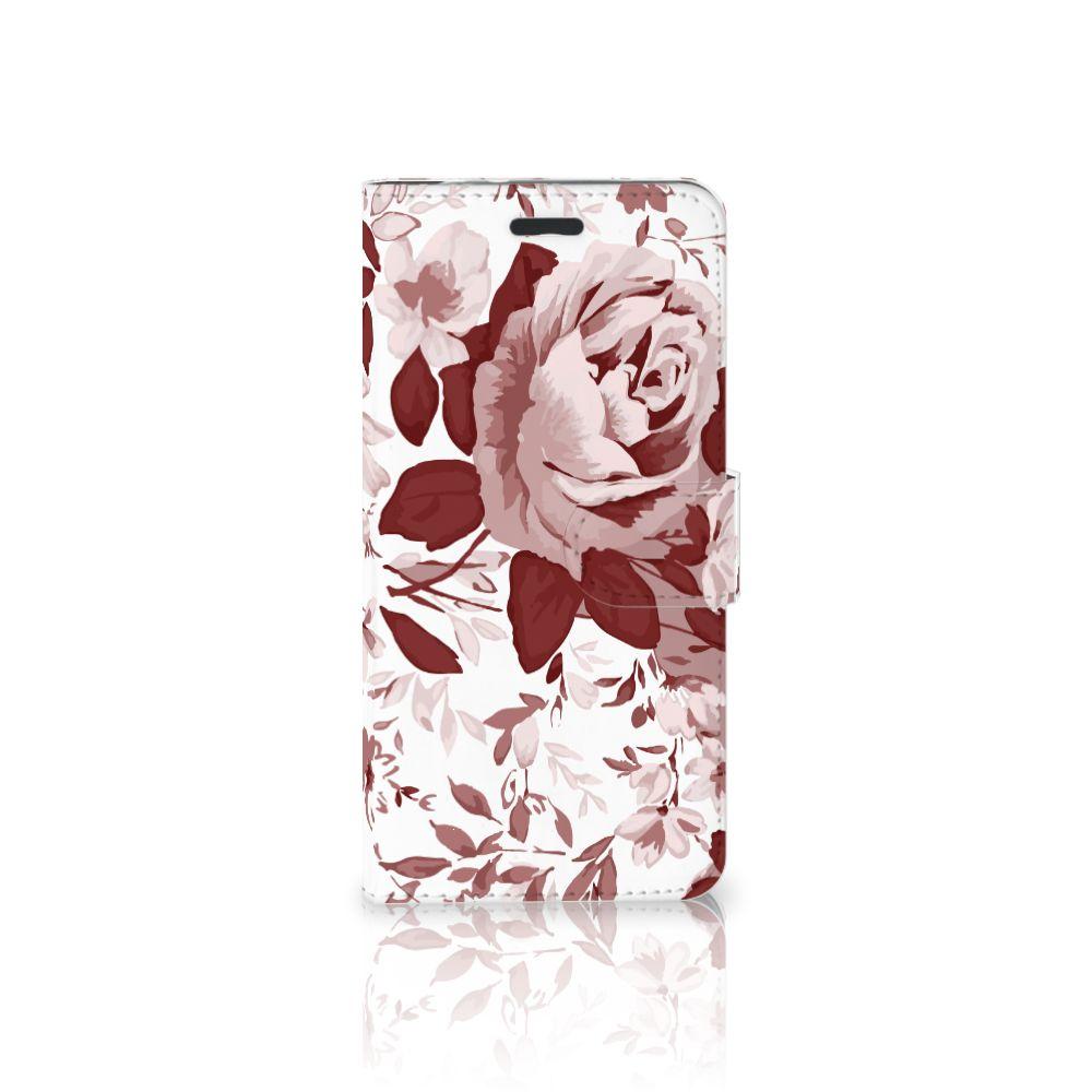 Hoesje Motorola Moto Z Watercolor Flowers