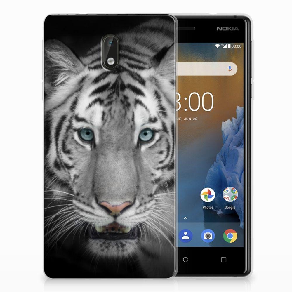 Nokia 3 TPU Hoesje Tijger