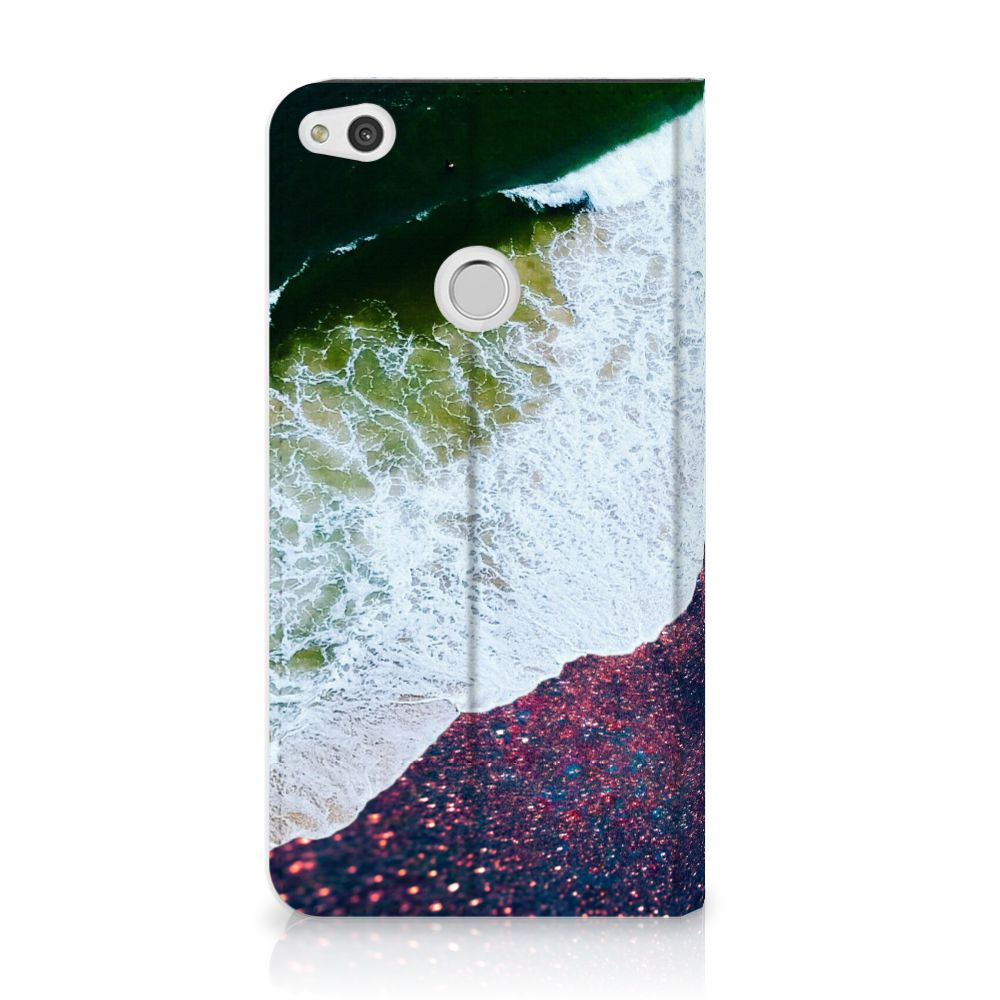 Huawei P8 Lite 2017 Standcase Hoesje Design Sea in Space