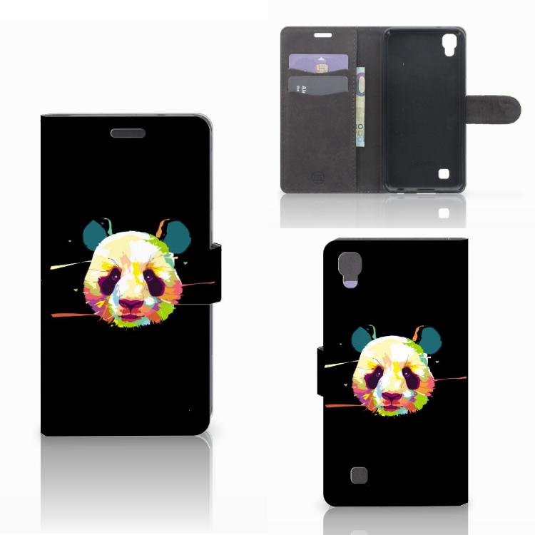 LG X Power Leuke Hoesje Panda Color