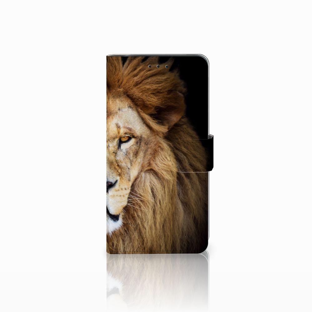 Samsung Galaxy J6 Plus (2018) Boekhoesje Design Leeuw