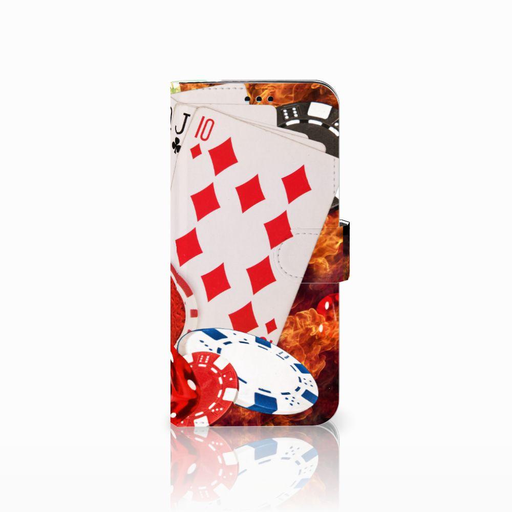 Samsung Galaxy S9 Plus Uniek Boekhoesje Casino