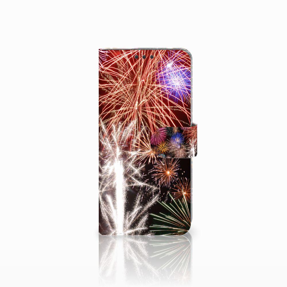 Sony Xperia Z5 Premium Boekhoesje Design Vuurwerk