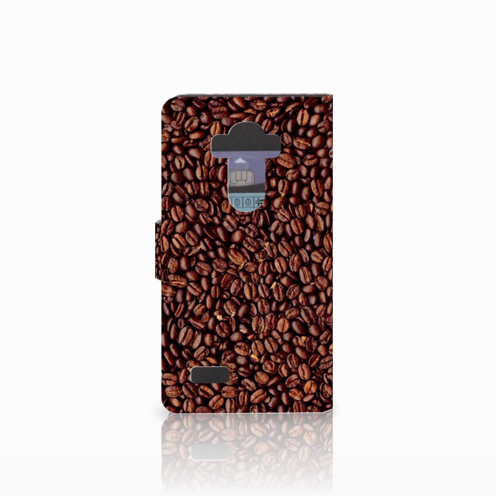 LG G4 Book Cover Koffiebonen