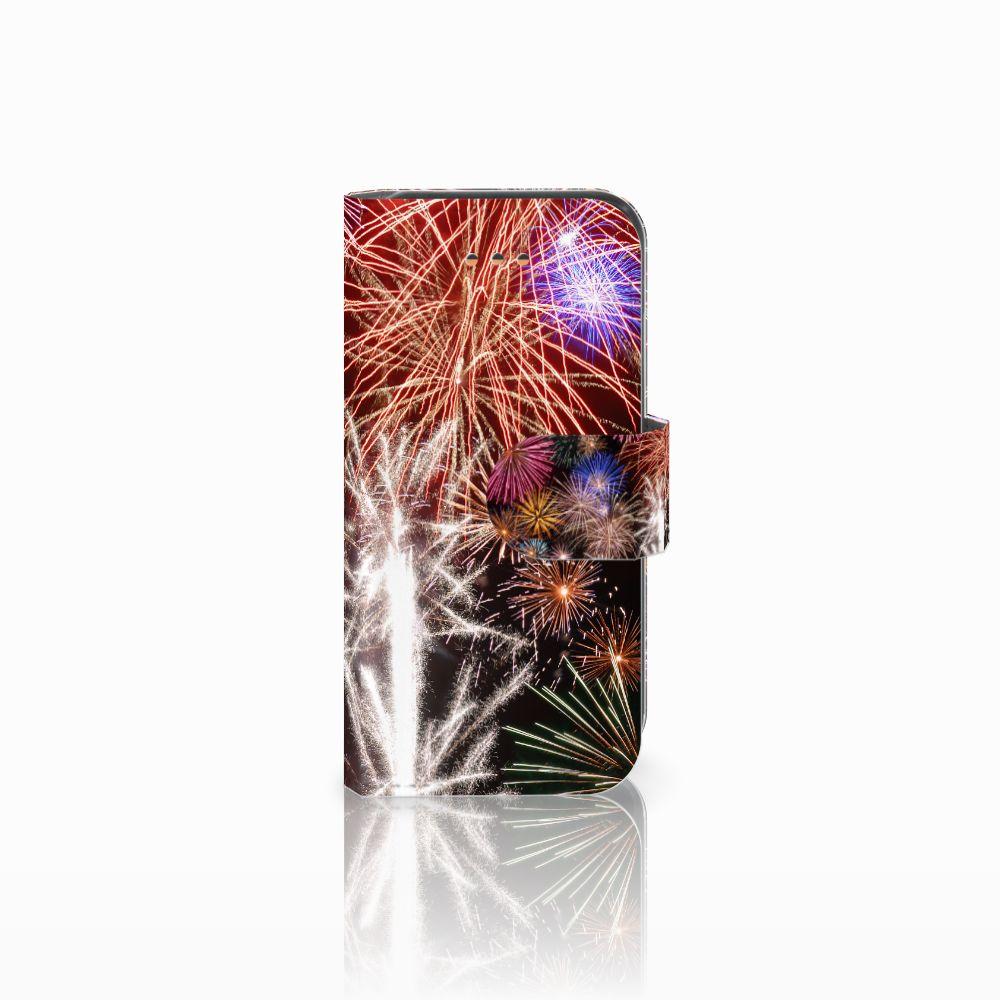 Apple iPhone 5C Boekhoesje Design Vuurwerk