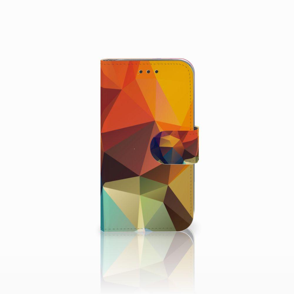 Samsung Galaxy Core Prime Bookcase Polygon Color