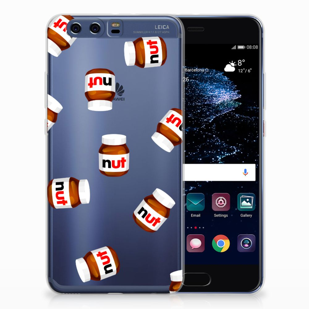 Huawei P10 Plus Siliconen Case Nut Jar