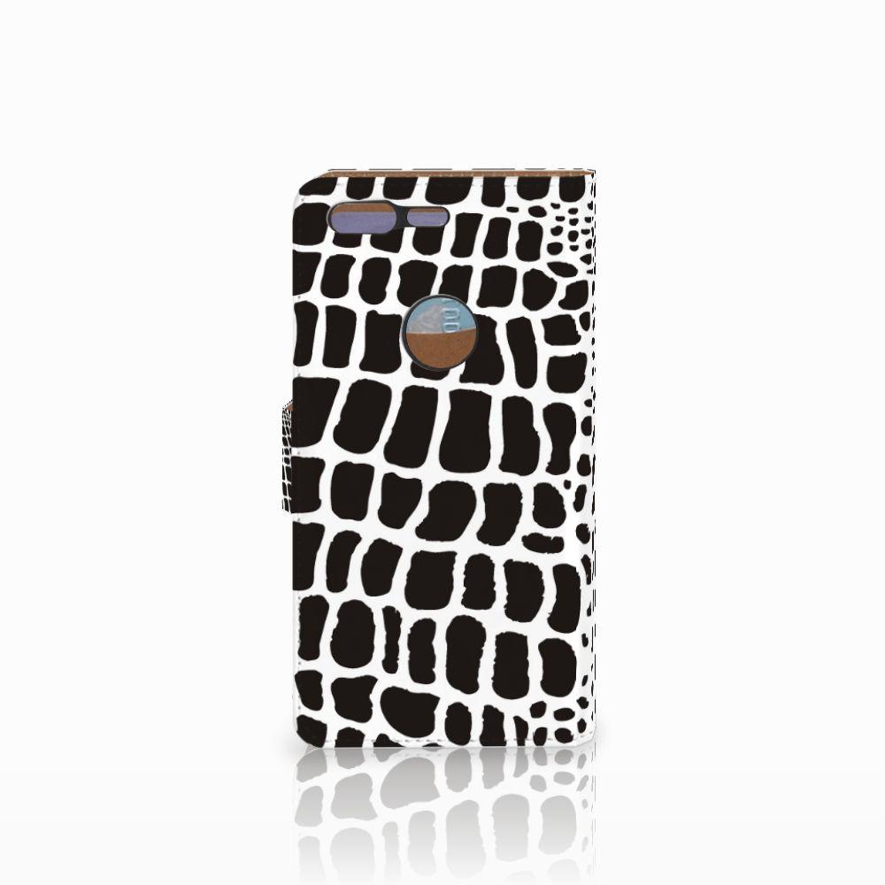 Google Pixel Telefoonhoesje met Pasjes Slangenprint