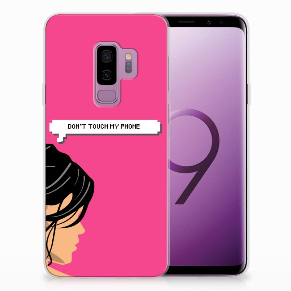 Samsung Galaxy S9 Plus Uniek TPU Hoesje Woman DTMP