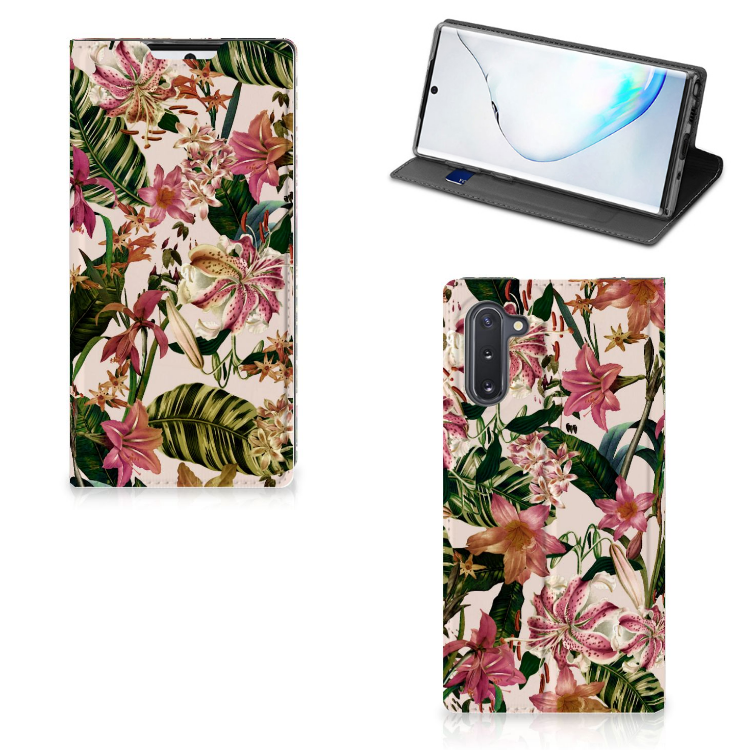 Samsung Galaxy Note 10 Smart Cover Flowers