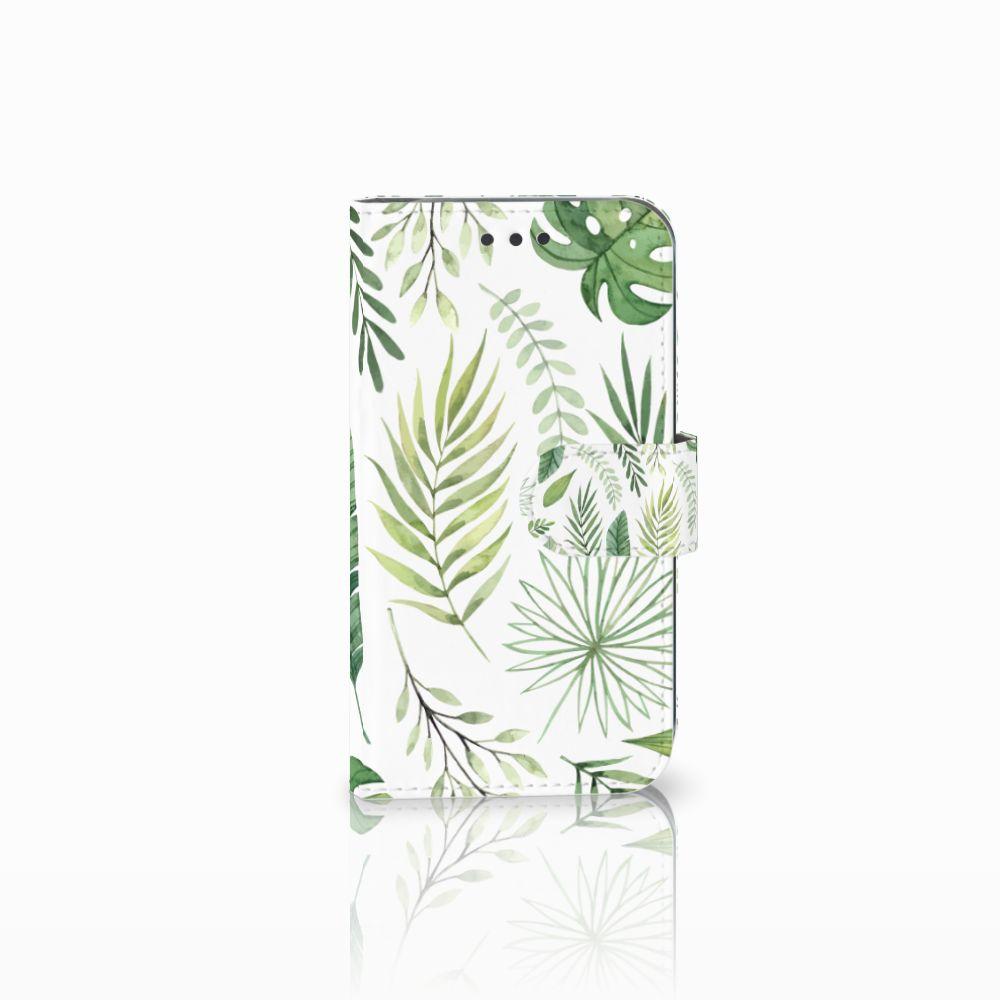 Samsung Galaxy S3 i9300 Uniek Boekhoesje Leaves
