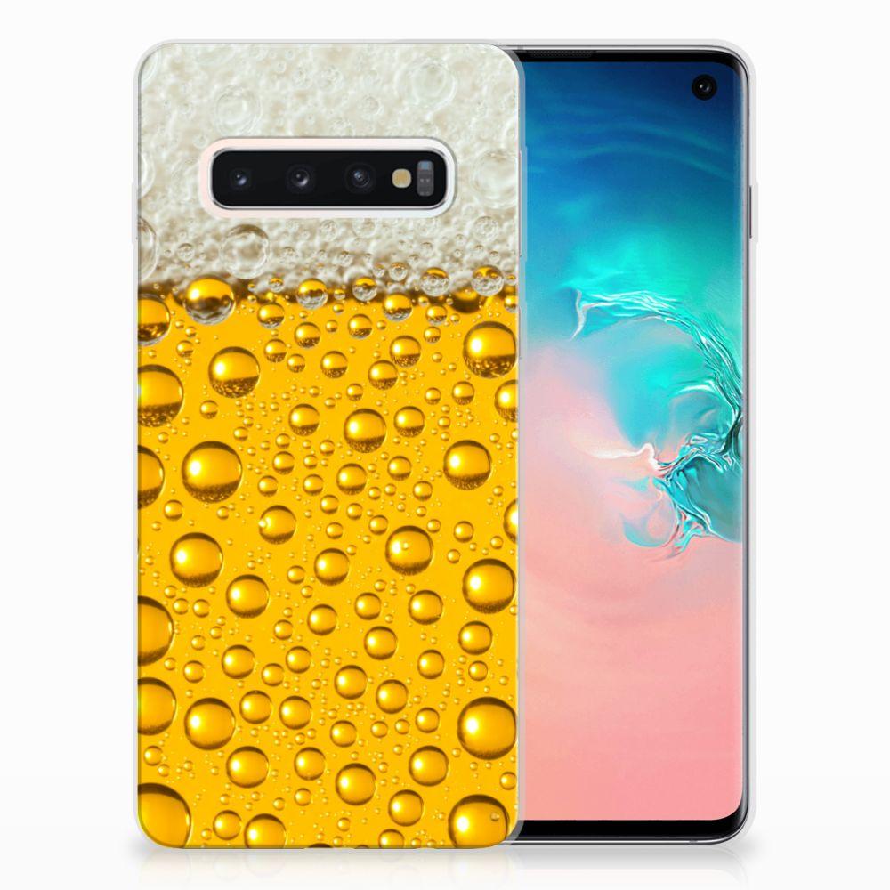 Samsung Galaxy S10 Uniek TPU Hoesje Bier