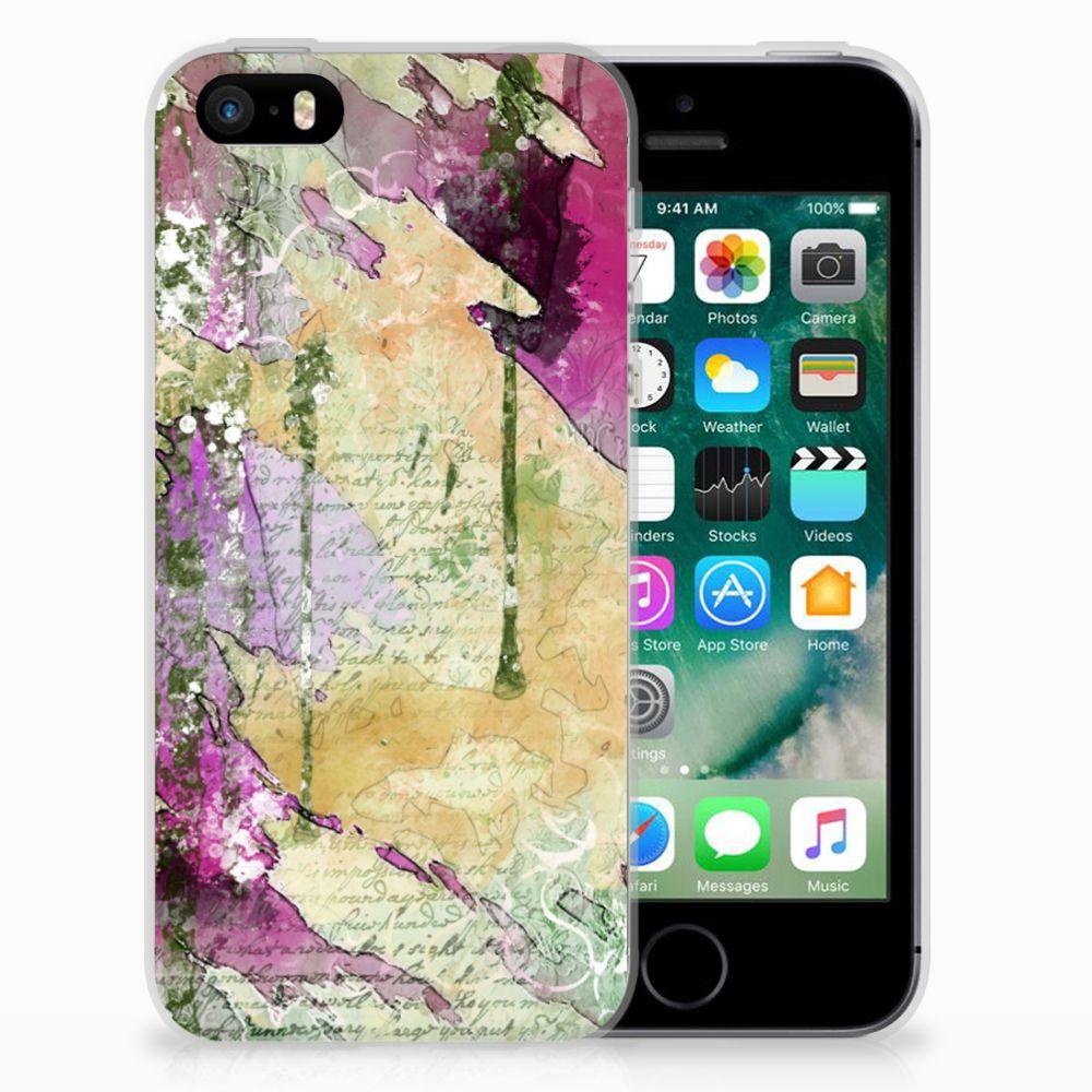 Hoesje maken Apple iPhone SE   5S Letter Painting