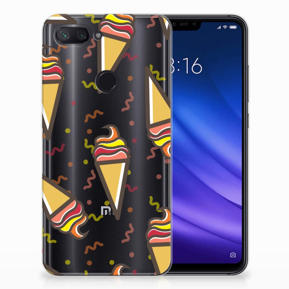 Xiaomi Mi 8 Lite Siliconen Case Icecream