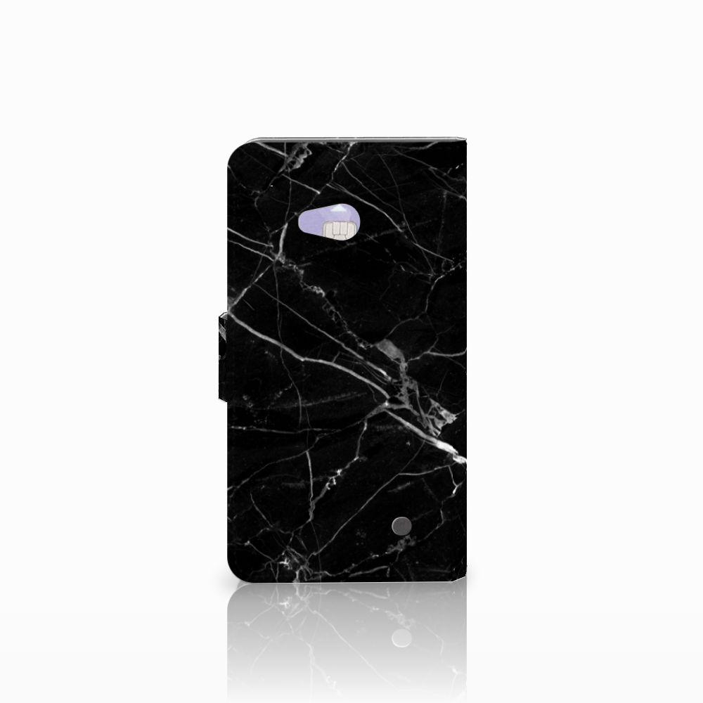 Microsoft Lumia 640 Bookcase Marmer Zwart
