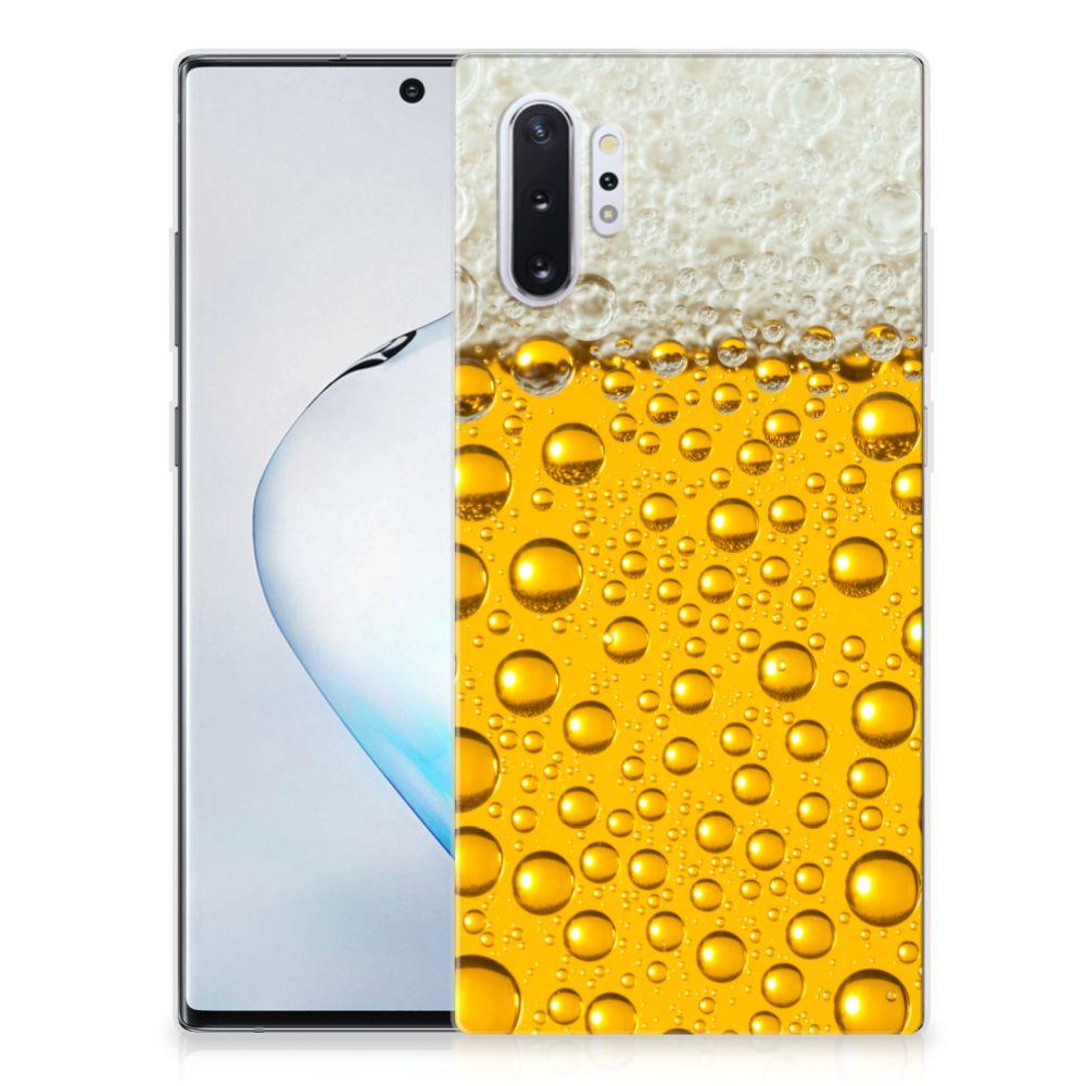 Samsung Galaxy Note 10 Plus Siliconen Case Bier