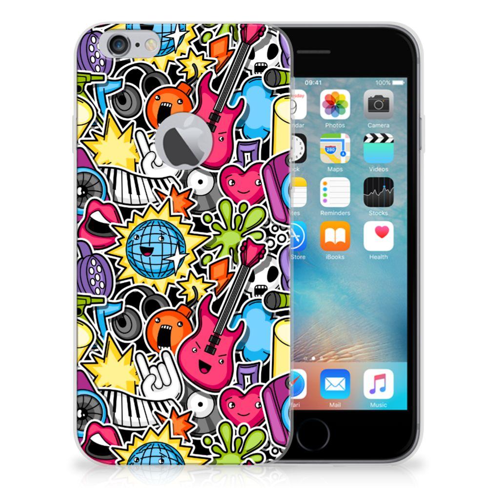 Apple iPhone 6 Plus | 6s Plus Silicone Back Cover Punk Rock