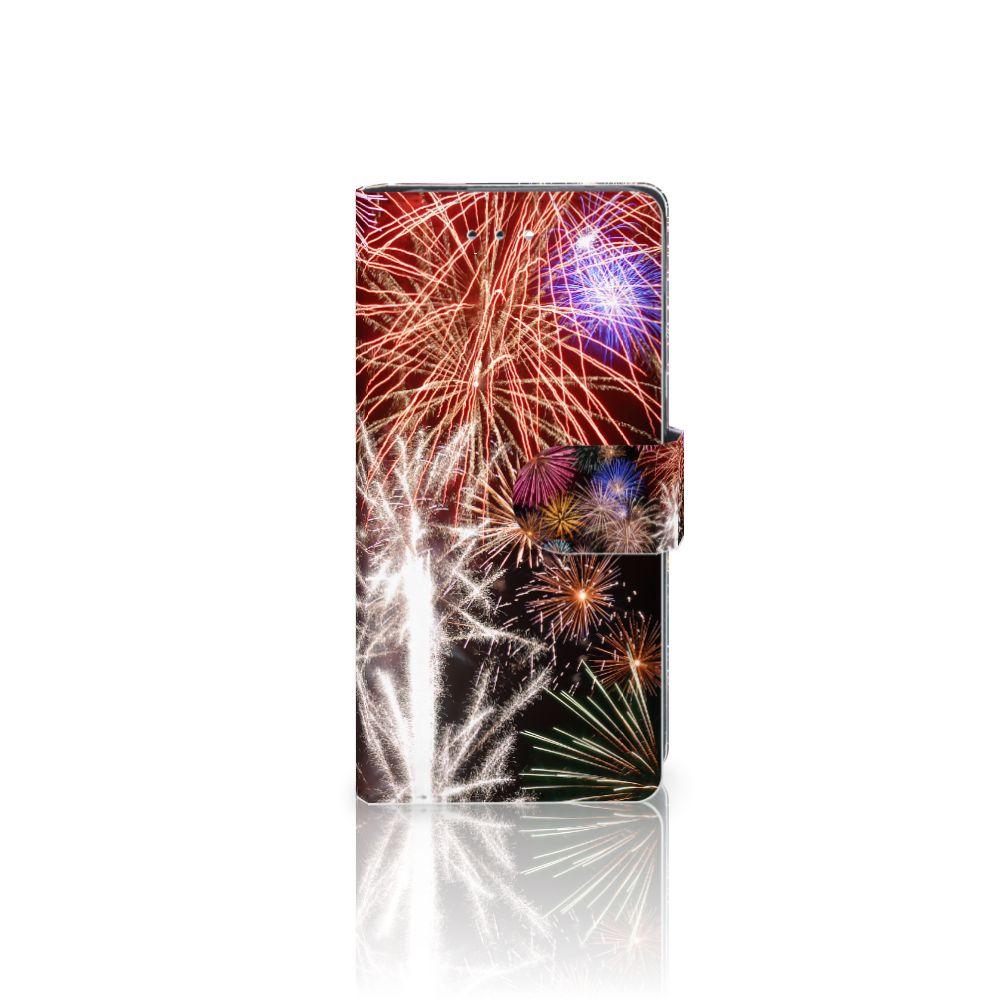 Huawei P9 Boekhoesje Design Vuurwerk