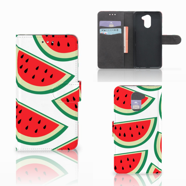 Huawei Y7 2017 | Y7 Prime 2017 Book Cover Watermelons