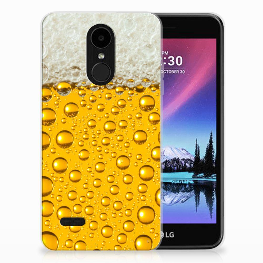 LG K4 (2017) Siliconen Case Bier
