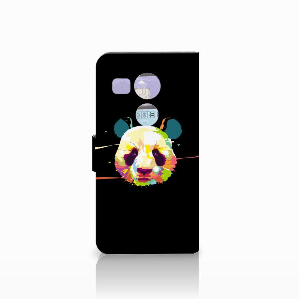 LG Nexus 5X Leuke Hoesje Panda Color