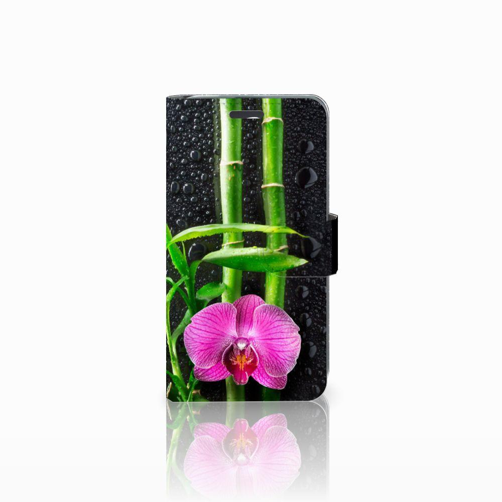 Acer Liquid Z520 Boekhoesje Design Orchidee