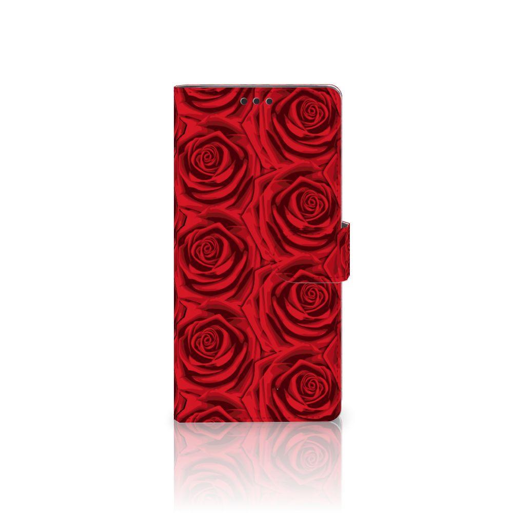 Sony Xperia XA Ultra Uniek Boekhoesje Red Roses