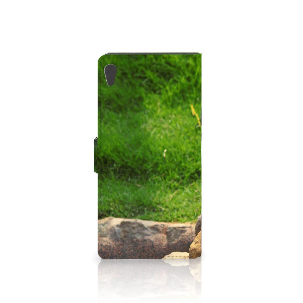 Sony Xperia XA Ultra Telefoonhoesje met Pasjes Panda