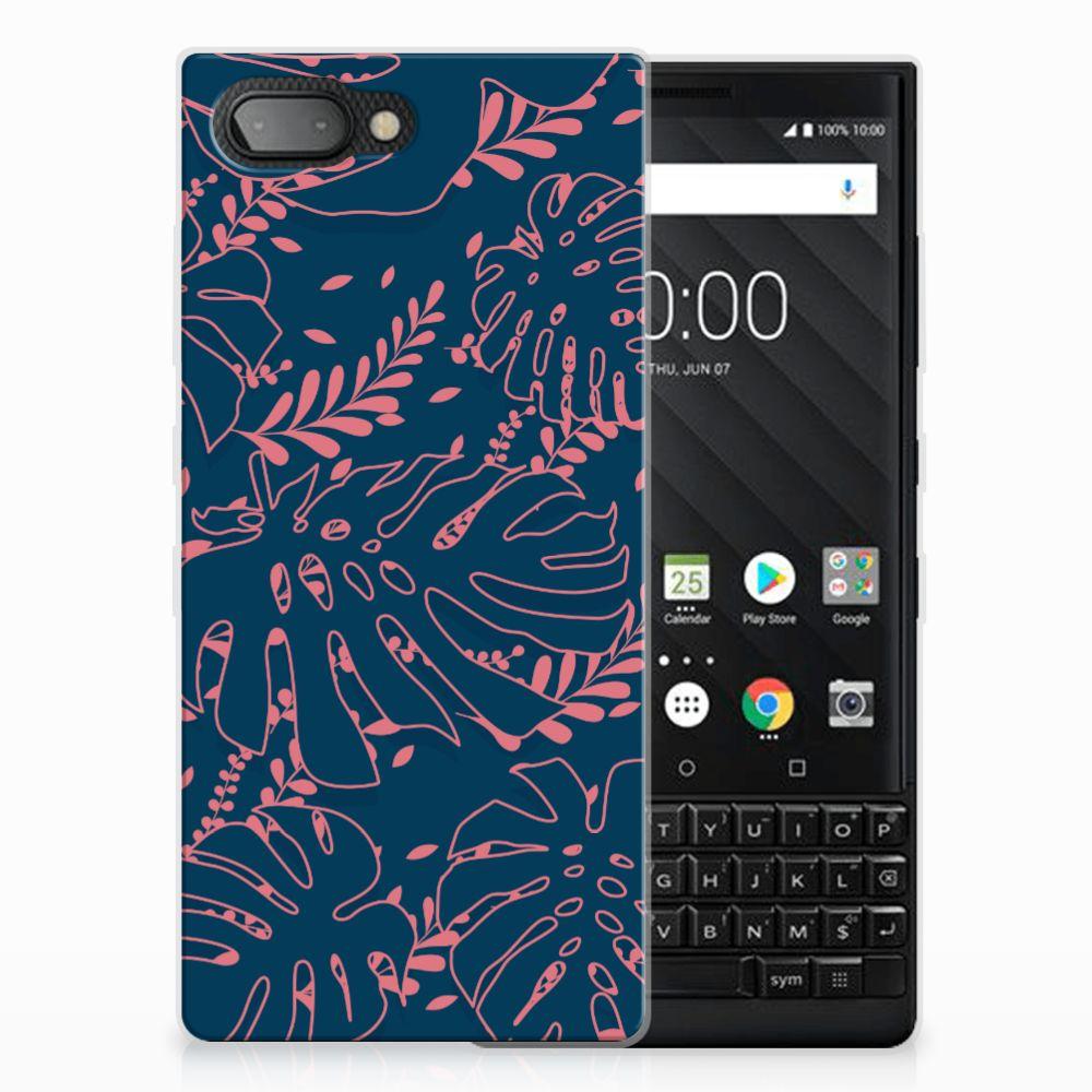 BlackBerry Key2 TPU Hoesje Design Palm Leaves