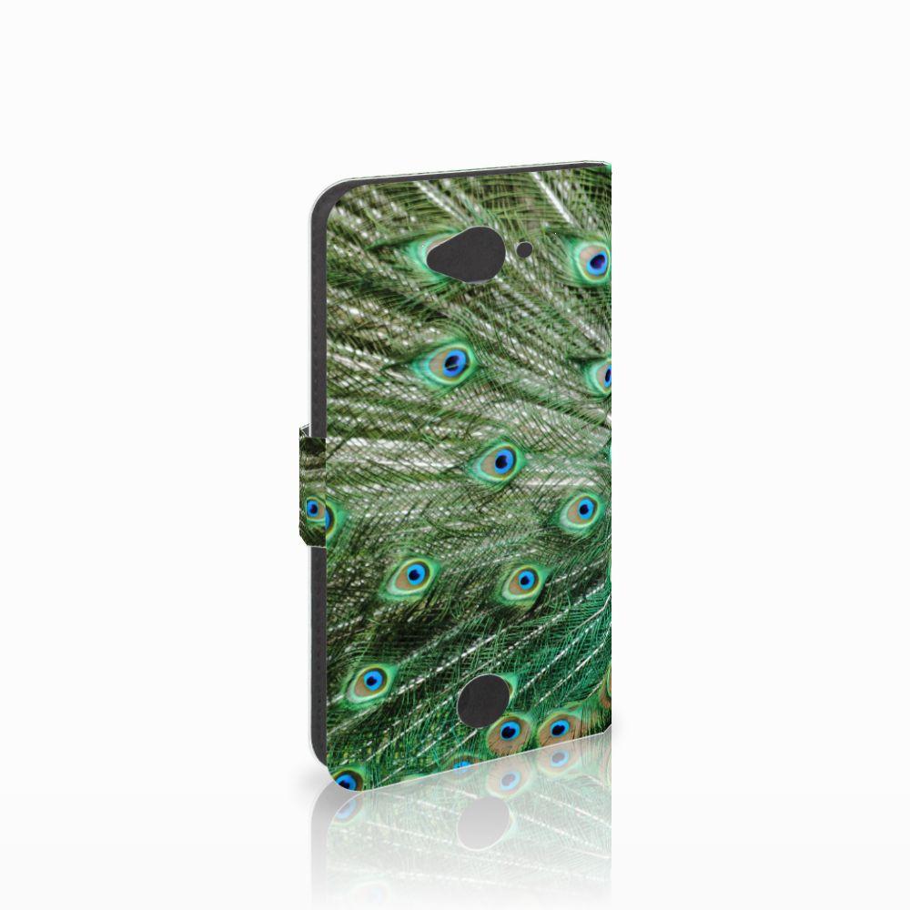 Acer Liquid Z530 | Z530s Telefoonhoesje met Pasjes Pauw